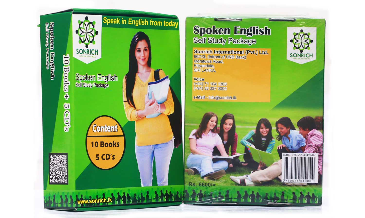 2 English Pack